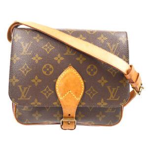 LOUIS VUITTON CARTOUCHIERE MM SHOULDER BAG PURSE M51253 SL0940 61938