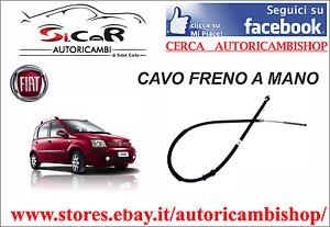 CAVO FRENO DI STAZIONAMENTO DX COFLE FIAT PANDA 169 1.2 1.3MJET 12.0701 51708685