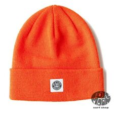 New OBEY Downtown Blazing Orange Cap Hat Beanie