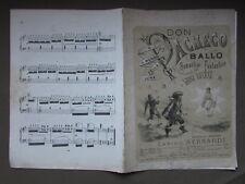 Spartito Don Pacheco Ballo Romantico Fantastico Danesi Bernardi Bratti Musica