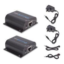 1080P HDMI Extender Converter Splitter(Sender+Receiver) Up 60M PS3 Foxtel IQ IR