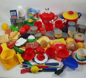 Play Kitchen Utensils & Food Mixed Bundle Items Nice Joblot Chef Role Play Lot 1
