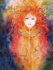 """Call Of The Goddess """"THE GARDEN SPRITE"""" Fairy 550 Pcs BOXLESS Jigsaw Puzzle NEW"""