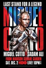 Miguel Cotto v Sadam Ali Wbo Junior Middleweight Title Promo Poster