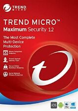 Trend Micro Maximum Security 16 (2020) | 3 Years Licence | 5 Devices Email Deliv