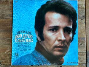 Sounds Like... - Herb Alpert & The Tijuana Brass - A&M Records – LP 124 - Mono