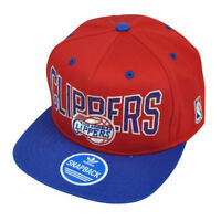 NBA Adidas Los Angeles Clippers LA ZE86 Snapback Flat Bill Red Hat Cap Sport