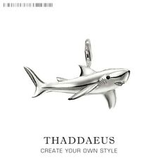 Pendant Shark 2019 Fashion Jewelry Thomas Bijoux Necklace 925 Silver Gift