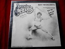 RAY MANCINI~KNOCK OUT BODIES~ MEGA RARE~ SEALED~NO HOLES~ NO BAR ~ NOVELTY LP