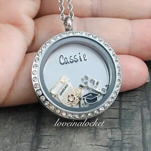 Graduation Locket, Graduation Necklace, High School Grad Gift, Gifts For Grads