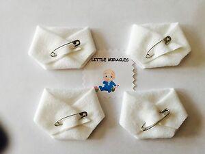 LM 40 ORIGINAL WHITE BABY SHOWER DIRTY DIAPER FAVOR GAME