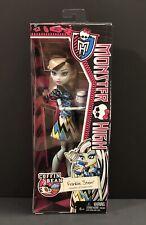 """Mattel Monster High Dolls~Frankie Stein Coffin Bean~12"""" Doll New In Box"""
