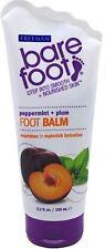 Freeman Bare Foot Softening Foot Balm, Peppermint - Plum 5.30 oz