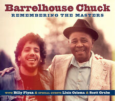 Barrelhouse Chuck - Remembering The Masters [New CD]