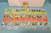 2021 McDonald's Pokemon 25th Anniversary Card Complete Set in Case! Non Holo