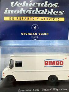 Grumman Olson (1993) Bimbo Diecast 1:43  Autos de Servicio Argentina w/mag
