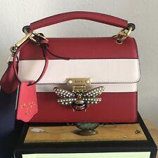Gucci Borsa Queen Margaret Top Handle  Leather Shoulder Bag