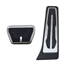 For New BMW X3 X4 X5 X6 No Drill Steel Brake Gas Pedal Cover Cap Accessories