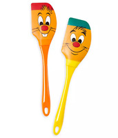 Disney Parks Cinderella Gus Jaq Silicone Kitchen Baking Spatula Set of 2 - NEW