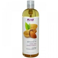 Almond NOW FOODS 100% Pure Sweet Almond Oil 16oz Moisturizing Oil Skin 02/20EXP