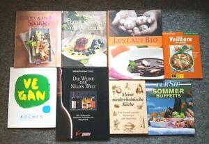 Bücherpaket Buch 8 Kochbücher Rezepte gut erhalten
