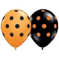 Globos de látex de fiesta color principal negro ovalada