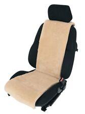 Autositzauflage Sitzbezug echtes Lammfell, Farbe sekt/hellbraun, Breite 36 cm