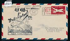 87361) Helikopterpost USA , Norwalk - New York AMF 10.12.52, GAU SST TBC signed