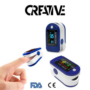 Fingertip Pulse Oximeter Blood Oxygen Saturation SpO2 Finger PR Monitor UK - CE
