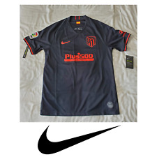 Nike Men's Atletico Madrid 2019/20 Stadium Black Away Football Soccer Jersey