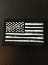 U.S. American Flag Embroidered, Usa Hook And Loop Patch