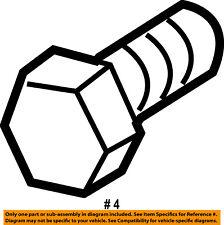 CHRYSLER OEM Drive Axles-Front-Intermed Shaft Bolt 6510124AA