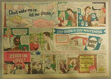 Super Suds Ad: Don't Wake Me Let Me Dream ! 1940's