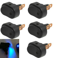 5 X 12V 30Amp 30A Heavy Duty Blue LED OFF/ON Rocker Switch Car Motor Boat Sales