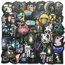 50Pcs Outer Space Universe Traveler Stickers Bomb Skateboard Luggage Decals Pack