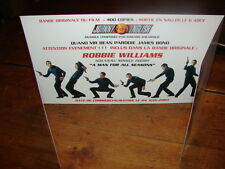 ROBBIE WILLIAMS MAN FOR ALL!RARE FRENCH PROMO PRESS/KIT