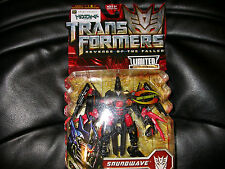 Transformers Revenge of the fallen ROTF Black Soundwave Chara Hobby Exclusive