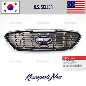 RADIATOR GRILLE FRONT BUMPER (GENUINE) 863501D500 KIA RONDO 2009-2012