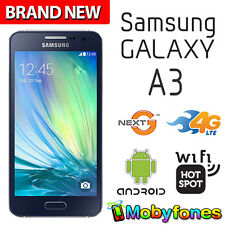 SAMSUNG GALAXY A3 TELSTRA BRAND NEW 3G 4G LTE NEXT G ANDROID 8MP CAMERA WiFi