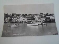 Vintage RPPC Town Quay, Lymington 21564 (Hampshire) - Unposted    §A773
