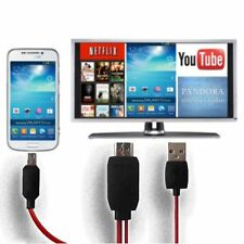Micro USB to 1080P HDMI HDTV AV TV Adapter Cable Cord For HTC ONE Max Mini XG