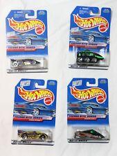 Mattel Hot Wheels Techno Bits Series Collector#'s 689 690 691 692 4 car set