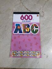 600 PCS. ABC & Decorative Borders & Accents Stickers
