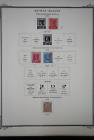 Cayman Islands 1900 to 1962 Stamp Collection