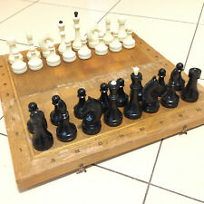 Chess Vintage USSR Soviet Set Wooden Russian Full Tournament Antique Old Rare