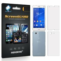 3 FRONT +3 BACK Brand Membrane Screen Protectors Protect Sony Xperia Z3 COMPACT