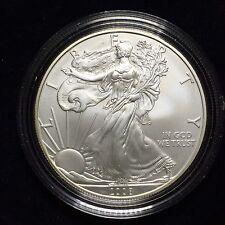 American Silver Eagle 2008-W Burnished with Box & COA