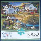 jigsaw puzzle 1000 pc Hound of the Baskervilles Wysocki Americana Buffalo Games