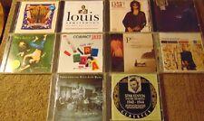 Lot of 10 Assorted JAZZ CDs - Louis Armstrong  Stan Kenton  Chick Corea +