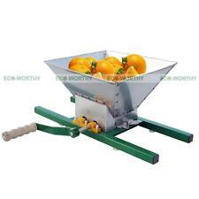 ECO Fruit Crusher Apple Pear Scratter Cider Wine Juice Making Press Shredder 7L